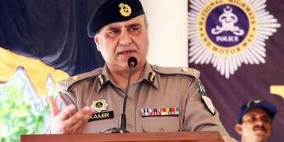 انسپکٹر جنرل آف پولیس اسلام آباد کی زیر صدارت پاکستان ڈے پریڈ سکیورٹی ..