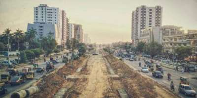 کراچی میں زیرتعمیر گرین لائن بس ریپڈ ٹرانزٹ منصوبے کیلیے بسوں کی خریداری