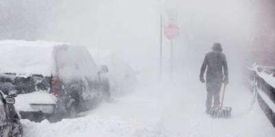 امریکا میں برفباری کا طوفان، کئی پروازیں معطل