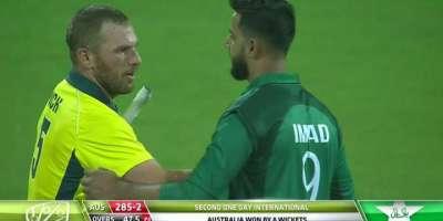 دوسرا ون ڈے ، آسٹریلیا نے پاکستان کو 8وکٹو ں سے شکست دیدی