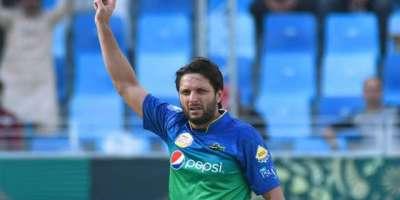 شاہد آفریدی نے عالمی کپ کیلئے منتخب کردہ ٹیم پر اعتراض اٹھا دیا