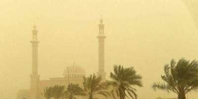 الریاض سعودی عرب میں مٹی کا شدید طوفان