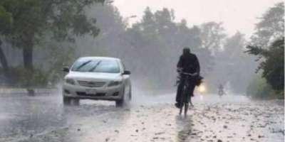 لاہور سمیت صوبے کے مختلف علاقوں میں تیز ہوائوں کے ساتھ بارش ،سردی کی ..