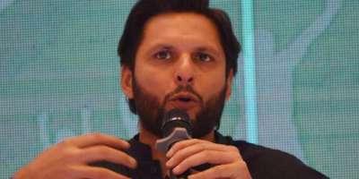 شاہد آفریدی نے پاکستانی ٹیم کے کھلاڑیوں کو 'سٹارز' قرار دے دیا
