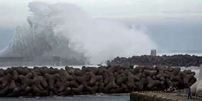جاپان میں سمندری طوفان ہیگی بس کے بعد شدید بارشوں کی پیشگوئی