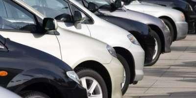 کاروں کی ملکی درآمدات میں 42 فیصد کمی