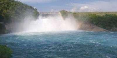 واپڈا نے مختلف آبی ذخائر میں پانی کی آمد واخراج کے اعداد وشمار جاری ..