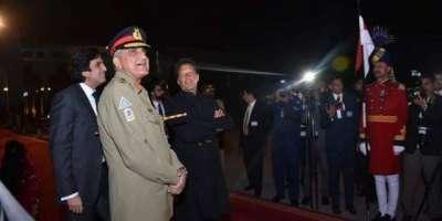 ولی عہد کی آمد ،وزیر اعظم عمران خان اور آرمی چیف جنرل قمر جاوید باجوہ ..