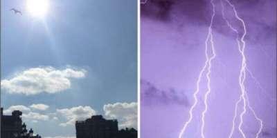 ملک کے بیشتر علاقو ں میں موسم خشک رہے گا، کشمیر میں بارش کا امکان