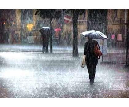 ملک کے وسطی اور بالائی علاقوں میں بارش ، نشیبی علاقے زیر آب آگئے