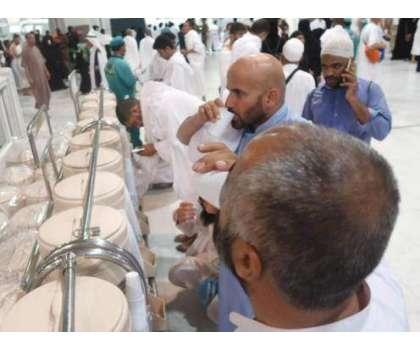 مسجد نبوی میں تقریباً ڈیڑھ سال بعد آب زمزم کے کولر دوبارہ رکھنے کا اعلان