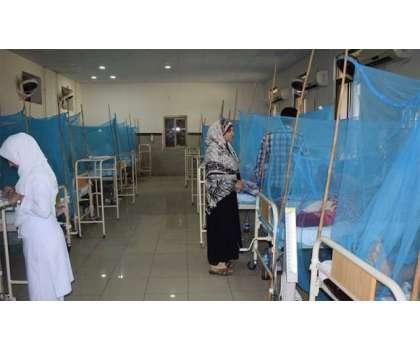 پنجاب میں ڈینگی کیسز میں اضافہ، نجی ہسپتالوں میں مریضوں کیلئے5 ہزار ..