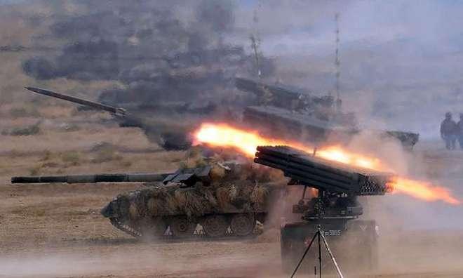 نعرہ تکبیر، اللہ اکبر! پاک فوج نے بھاری ہتھیاروں کے ساتھ سرحد پر پہنچنا ..