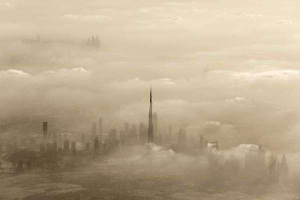 متحدہ عرب امارات میں آئندہ دو دنوں میں مٹی کا شدید طوفان اور گرد آلود ..