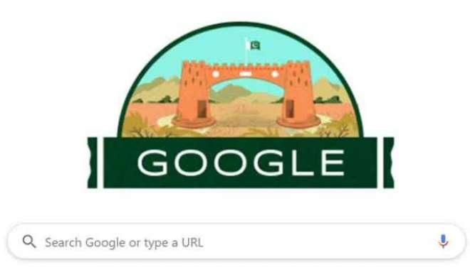 پاکستان کا یوم آزادی ،معروف سرچ انجن گوگل بھی جشن آزادی کے رنگوں میں ..
