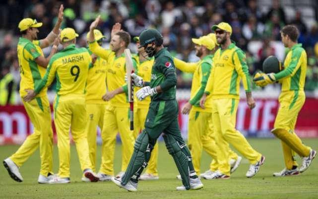 ورلڈکپ 2019 ، دفاعی چیمپئن آسٹریلیا نے پاکستان کو 41رنز سے شکست دیدی