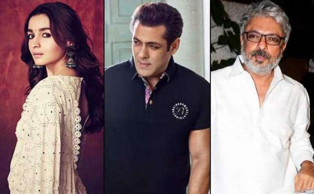 سلمان خان کی سنجے لیلی بھنسالی کیساتھ فلم 'انشا اللہ' روک دی گئی ، ..