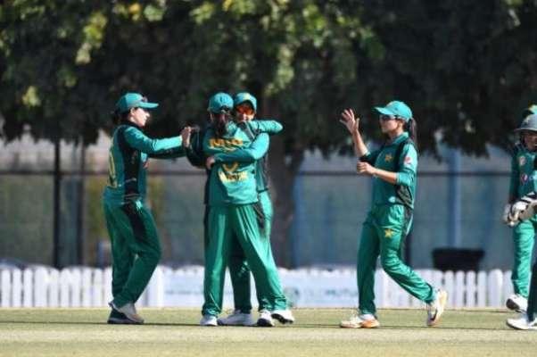 تیسرا میچ ، ویسٹ انڈین ویمنز ٹیم کا پاکستان کو جیت کے لیے160رنز کا ہدف