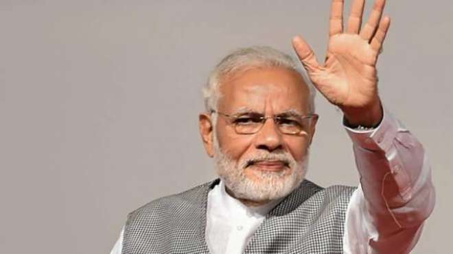 بھارتی جنتا پارٹی بغیر کسی اتحاد کے حکومت بنانے کی پوزیشن میں آگئی