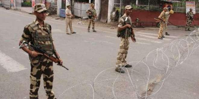 بھارت عید الاضحی کے موقع پر مقبوضہ کشمیر میں کرفیو کی پابندیوں میں ..