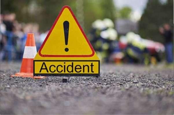 مدینہ منورہ جانے والی معتمرین کی بس کوٹریفک حادثہ