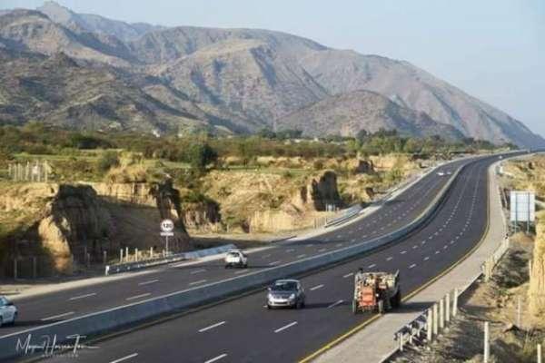 پاکستان کی سب سے مشکل اور خوبصورت ترین ہزارہ موٹروے کے پہلے حصے کی تعمیر ..