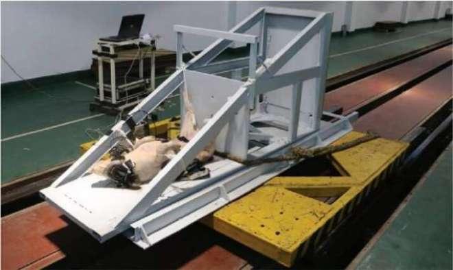 چینی سائنسدانوں کے  حادثے کے ٹسٹ میں نقلی پتلے کی  بجائے  زندہ سور استعمال ..