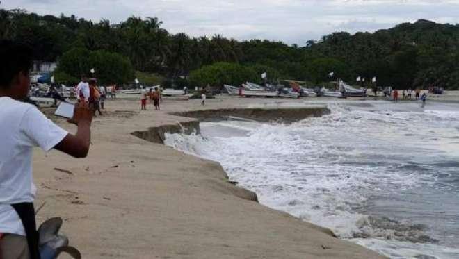 پورٹو ایسکونڈیتو۔ میکسیکو کا ڈوبتا ہوا ساحل