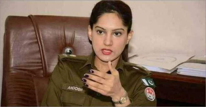 لاہور کی خاتون پولیس افسر جرائم کے خلاف لڑنے والی بہترین افسر قرار