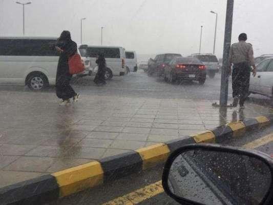 سعودی عرب میں اکثر علاقوں میں سیلابی صورتِ حال کا خدشہ