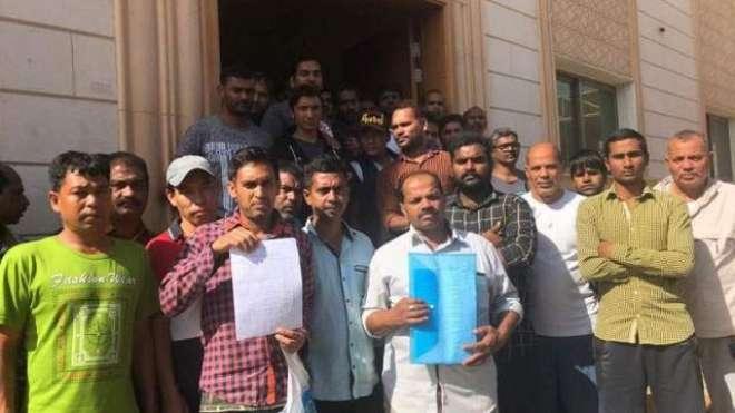 ابو ظہبی: پانچ ماہ سے تنخواہیں وصول نہ کرنے والے پاکستانیوں کی حالت ..