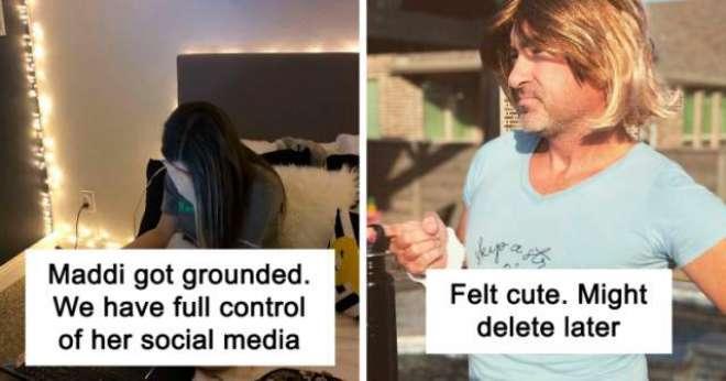 والدین نے بیٹی کو سزا دینے کے لیے دوہفتوں کے لیے اس کا سوشل میڈیا اکاؤنٹ ..