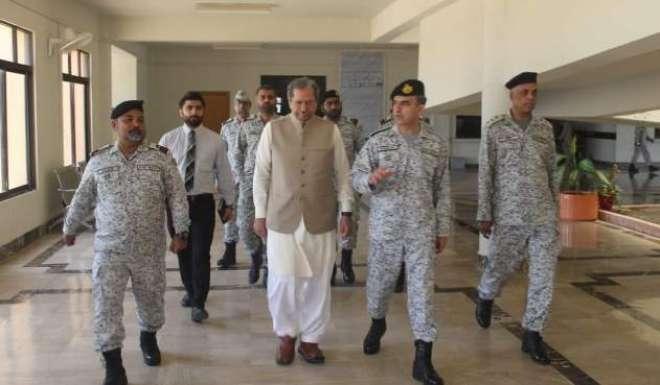 وفاقی وزیر برائے تعلیم کا پاکستان نیوی کیڈٹ کالج اورماڑہ اور پی این ..