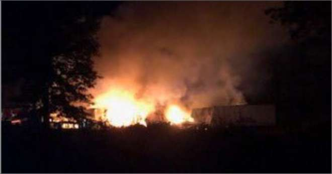 امریکی کارگو ہوائی جہاز کو حادثہ، 7افراد ہلاک
