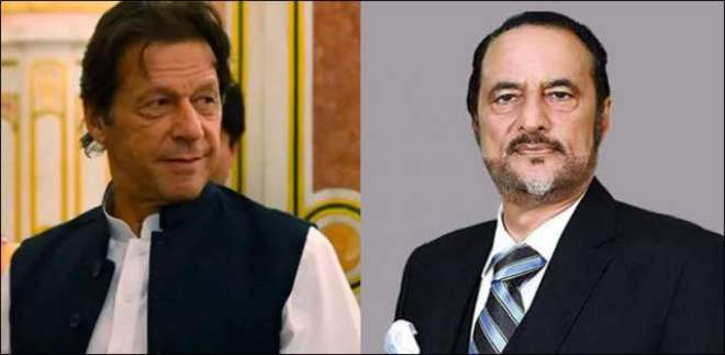 وزیر اعظم عمران خان سے معروف قانون دان ڈاکٹر بابر اعوان کی ملاقات