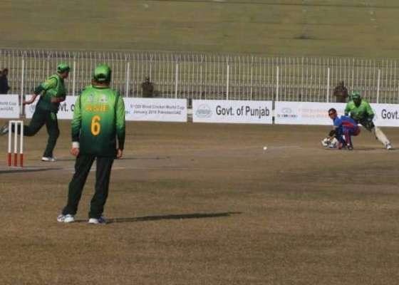 سری لنکا کے خلاف بلائنڈ کرکٹ سیریز کے لیے خیبرپختونخوا سے تین کھلاڑیوں ..