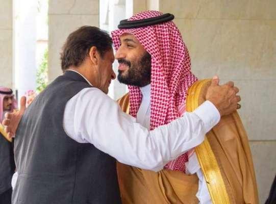 وزیر اعظم عمران خان کی سعودی قیادت سے ملاقاتیں