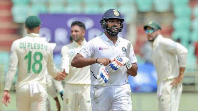 بھارت کی رانچی ٹیسٹ پر گرفت مضبوط، جنوبی افریقن ٹیم پہلی اننگز میں ..