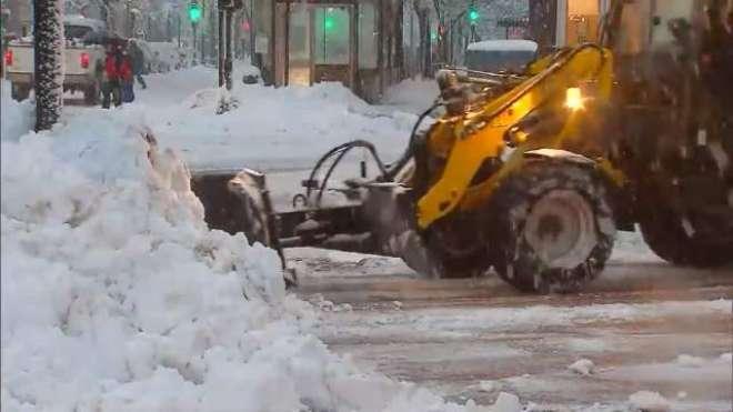 اٹلی میں شدید برف باری نے نظام زندگی درہم برہم کردیا،شہریوں کو آمدورفت ..