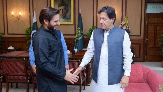 مقبوضہ کشمیر میں بھارتی مظالم،شاہد آفریدی کاوزیر اعظم عمران خان کی ..