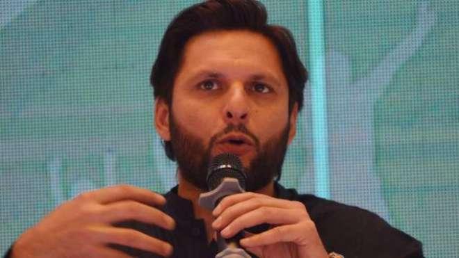 پاکستانی کرکٹ ٹیم کو ورلڈ کپ کے فائنل میں دیکھ رہا ہو،شاہد آفریدی