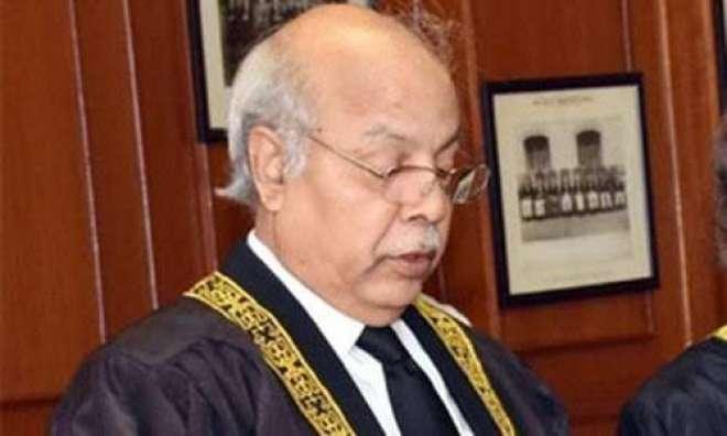 چیف جسٹس گلزار احمد کے اعزاز میں عدالت عالیہ لاہور میں عصرانہ کا اہتمام