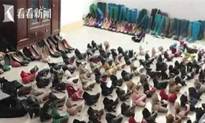 پولیس نے اونچی ایڑیوں والی جوتیاں چرانے کے عادی شخص کو گرفتار کر لیا