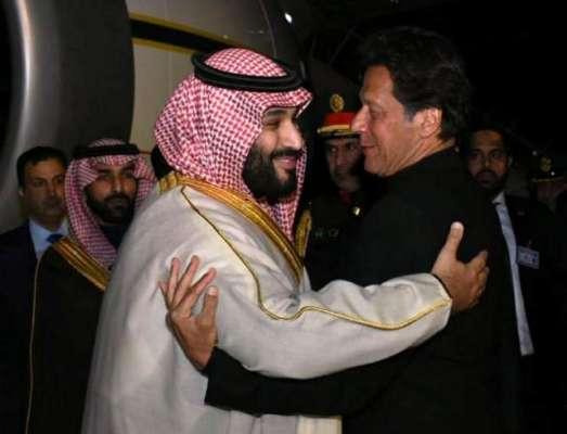 سعودی ولی عہد محمد بن سلمان کا وزیراعظم عمران خان کو ٹیلی فون