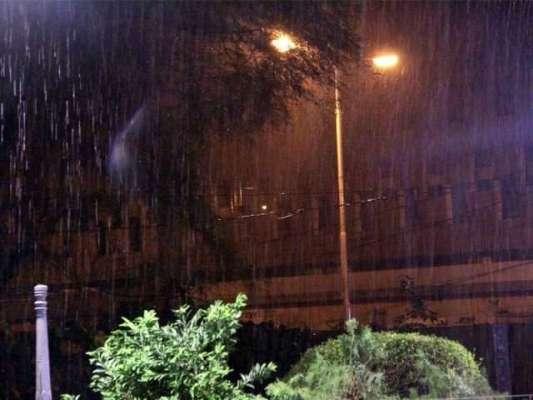 لاہور سمیت ملک کے بیشتر علاقوں میں گرج چمک کے ساتھ بارش کا امکان
