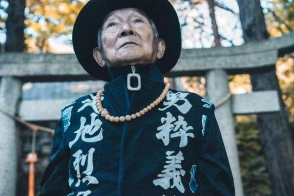 پوتے نے 84سالہ دادا کو فیشن سٹار بنا دیا