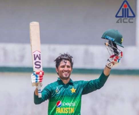 اے سی سی انڈر 19 ایشیا کپ میں پاکستان نے کویت کو شکست دے دی