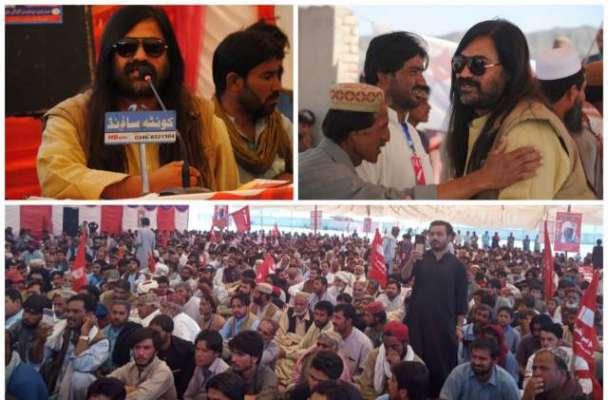 نوشکی کے علاقہ کلی احمد وال میں سمالانی قومی تحریک کا دوسرا کونسل سیشن