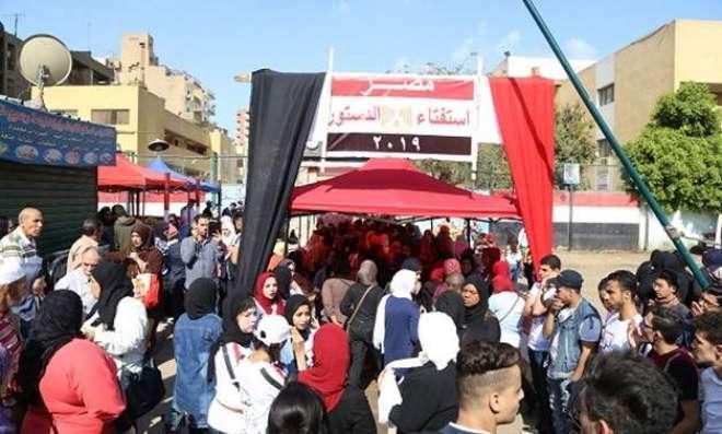 ریفرنڈ م کے بیلٹ پیپر پر مصریوں کی لطیفہ گوئی اور دلچسپ حس مزاح