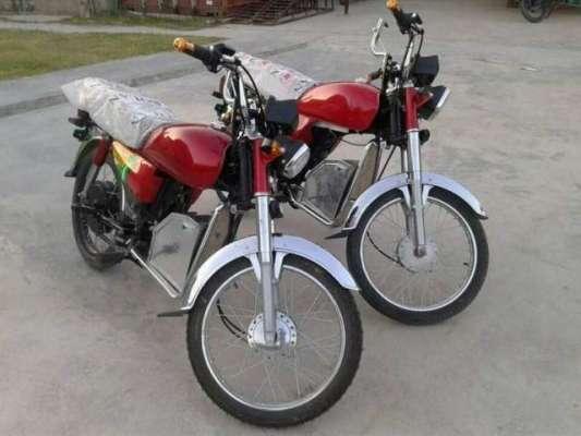 پاکستان میں برقی موٹرسائیکلوں کی تیاری کا عمل شروع،